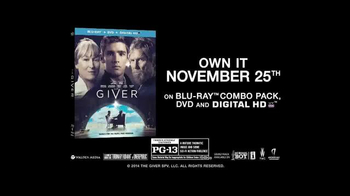 The Giver Blu-Ray Combo Pack TV Spot - Thumbnail 10