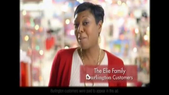 Burlington Coat Factory TV Spot, 'The Elie Family' - Thumbnail 2