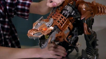 Transformers Stomp & Chomp Grimlock TV Spot, 'Disney XD: What's Up' - Thumbnail 4