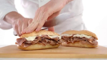 Arby's French Dip & Swiss TV Spot, 'Get Rich Quick on Sandwiches' - Thumbnail 1