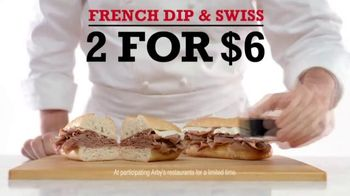 Arby's French Dip & Swiss TV Spot, 'Get Rich Quick on Sandwiches' - 14 commercial airings
