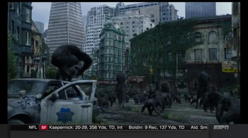 Dawn of the Planet of the Apes Digital HD TV Spot, 'Be the First' - Thumbnail 5