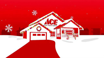 ACE Hardware TV Spot, 'Christmas Lights' - 1547 commercial airings