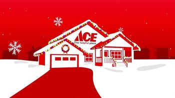 ACE Hardware TV Spot, 'Christmas Lights' - 1585 commercial airings