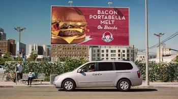 Wendy's Bacon Portabella Melt on Brioche TV Spot, 'Cartel' [Spanish] - Thumbnail 1