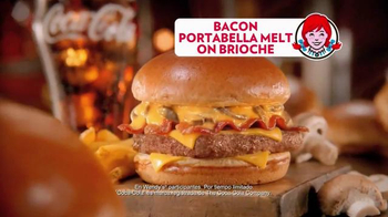 Wendy's Bacon Portabella Melt on Brioche TV Spot, 'Cartel' [Spanish] - Thumbnail 6