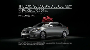 Lexus December to Remember Sales Event TV Spot, 'Magic Box' - Thumbnail 8