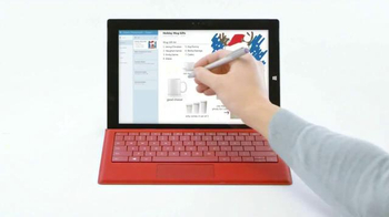 Microsoft Surface Pro 3 TV Spot, 'Winter Wonderland' - Thumbnail 3