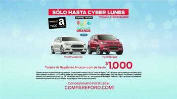Ford Viernes Negro Sueña en Grande TV Spot, 'Tarjetas de Regalo' [Spanish] - Thumbnail 10