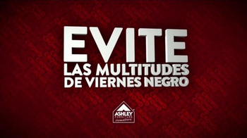 Ashley Furniture Homestore TV Spot, 'Multitudes de Viernes Negro' [Spanish] - Thumbnail 2