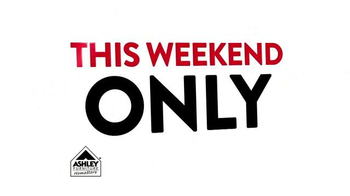 Ashley Furniture Homestore TV Spot, 'This Weekend Only' - Thumbnail 8