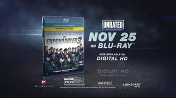 The Expendables 3 Blu-ray Combo Pack TV Spot