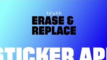 Truth Erase & Replace Sticker App TV Spot, 'Adult Swim' - Thumbnail 9