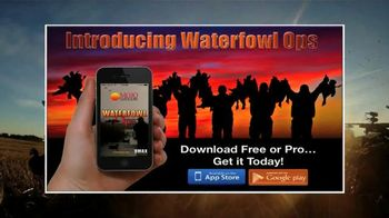 Mojo Outdoors Waterfowl Ops TV Spot, 'Newest Hunting App'