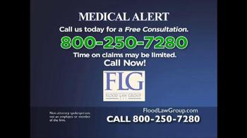 Flood Law Group TV Spot, 'Xarelto Internal Bleeding Lawsuit' - Thumbnail 3