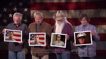 The American Legion TV Spot, '22 Veterans' Ft. The Oak Ridge Boys - Thumbnail 1