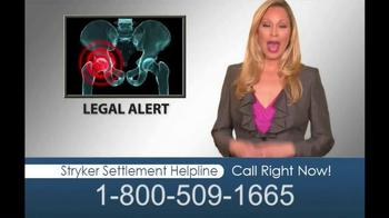 Hughes & Coleman TV Spot, 'Stryker Settlement Helpline' - Thumbnail 1