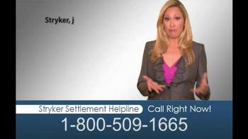 Hughes & Coleman TV Spot, 'Stryker Settlement Helpline' - Thumbnail 2