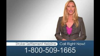 Hughes & Coleman TV Spot, 'Stryker Settlement Helpline' - Thumbnail 9