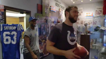 NFL Together We Make Football TV Spot, 'Mindy & Chad Meet the Colts' - Thumbnail 4