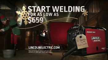Lincoln Electric TV Spot, 'Start Welding This Holiday Season' - Thumbnail 10