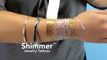 Shimmer Jewelry Tattoos TV Spot, 'Colección de Joyas' [Spanish] - Thumbnail 2