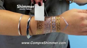 Shimmer Jewelry Tattoos TV Spot, 'Colección de Joyas' [Spanish] - Thumbnail 9