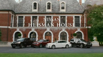 Nissan TV Spot, 'Heisman House: Cougar' Ft. Charles Woodson, Ricky Williams - Thumbnail 1