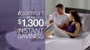 Serta iComfort TV Spot, 'Sleep into Savings' - Thumbnail 5