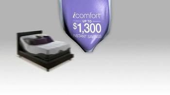 Serta iComfort TV Spot, 'Sleep into Savings' - Thumbnail 8
