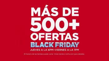 Kohl's Black Friday Ofertas TV Spot, 'Ahorrar en Grande' [Spanish] - Thumbnail 2