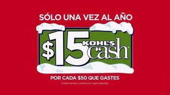 Kohl's Black Friday Ofertas TV Spot, 'Ahorrar en Grande' [Spanish] - Thumbnail 9