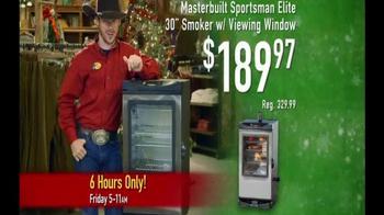 Bass Pro Shops Black Friday 6 Hour Sale TV Spot, 'Masterbuilt Smoker' - Thumbnail 4