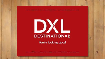 Destination XL Buy One Get One Free TV Spot, 'Best Shirts, Pants and More' - Thumbnail 1
