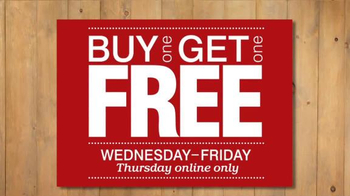 Destination XL Buy One Get One Free TV Spot, 'Best Shirts, Pants and More' - Thumbnail 9