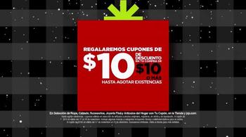 JC Penney Venta de Black Friday TV Spot, 'Navidades' [Spanish] - Thumbnail 10