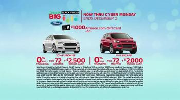 Ford Dream Big Black Friday TV Spot, '$1,000 Amazon Gift Card' - Thumbnail 9