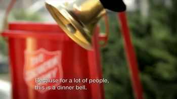 The Salvation Army TV Spot, 'Red Kettle Reason: Feeding the Hungry' - Thumbnail 4