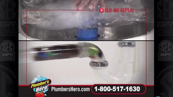 Plumber's Hero Drain Cleaner TV Spot, 'Unclog the Mess' Featuring Marc Gill - Thumbnail 3