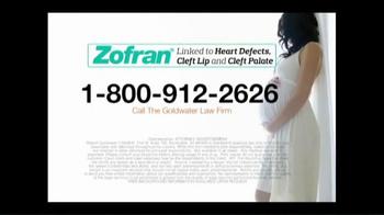Goldwater Law Firm TV Spot, 'Zofran Alert' - Thumbnail 10