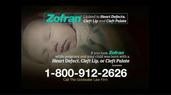 Goldwater Law Firm TV Spot, 'Zofran Alert' - Thumbnail 3
