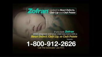 Goldwater Law Firm TV Spot, 'Zofran Alert' - Thumbnail 4