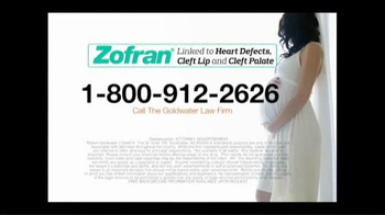 Goldwater Law Firm TV Spot, 'Zofran Alert' - Thumbnail 8