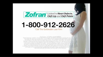 Goldwater Law Firm TV Spot, 'Zofran Alert' - Thumbnail 9
