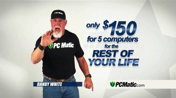 PCMatic.com TV Spot, 'Scheduled Maintenance' Featuring Randy White - Thumbnail 7