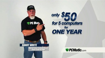 PCMatic.com TV Spot, 'Behind the Scenes' Featuring Randy White - Thumbnail 7