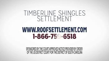 Timberline Shingle Settlement TV Spot, 'Shingle Replacement' - Thumbnail 10