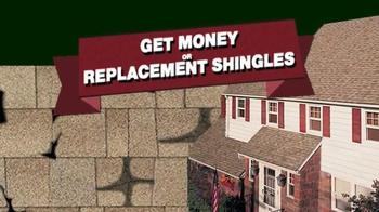 Timberline Shingle Settlement TV Spot, 'Shingle Replacement' - Thumbnail 4