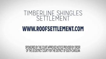 Timberline Shingle Settlement TV Spot, 'Shingle Replacement' - Thumbnail 9
