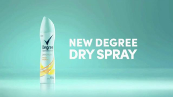Degree Women Dry Spray TV Spot, 'Superior Protection' - Thumbnail 9